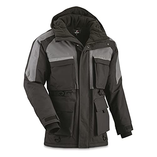 Guide Gear Barrier Ice Winter Men's Parka Jacket, Insulated,...