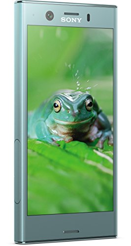Sony Xperia XZ1 Compact Smartphone 11,65 cm (4,6 Zoll) Triluminos Display (19MP Kamera, 32GB Speicher, Android) Blau - Deutsche Version