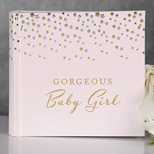 Widdop En Co Bambino Kleine Sterren Fotoalbum 4 x 6 Baby Meisje Licht Roze Nieuwe Baby Douche Gift