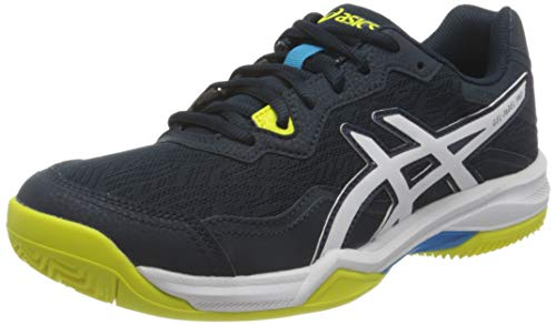 Asics Gel-Padel Pro 4, Indoor Court Shoe Hombre, French Blue/White, 41.5 EU