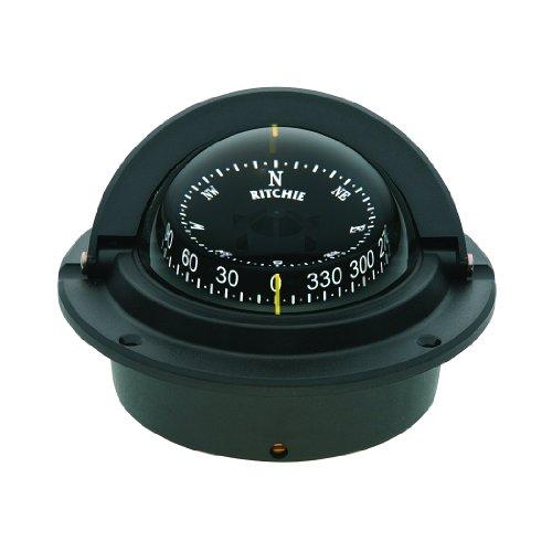 """Compass, Flush Mount, 3"""" Combi, Black"""