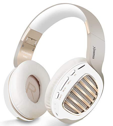 Bluetooth Headphones, Riwbox WB5 Bluetooth 5.0 Wireless Foldable...
