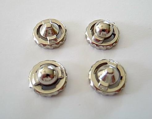 Beyblade Metall Spitze / Spitzen - 2x rund + 2x spitz
