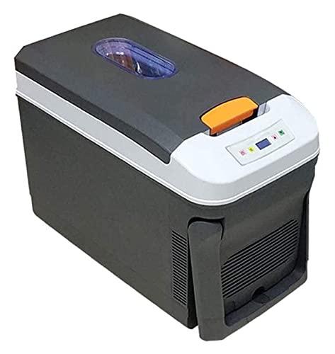 Refrigerador para acampar, Refrigerador termoeléctrico de gran capacidad 35L Nevera para acampar Camión 12V / 24V / 220-240V Mini Refrigeradores para automóvil Refrigerador para automóvil (Color: Negr