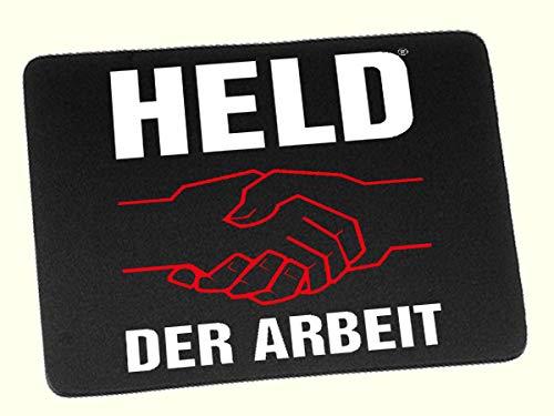 Ostprodukte-Versand.de Held der Arbeit Mauspad - Ossi Artikel - für Ostalgiker - DDR Produkte