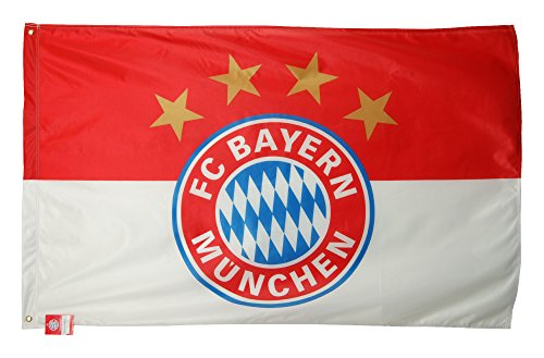 FC Bayern München Flagge mit Ösen Fahne Logo ca. 100x150 cm Fanartikel