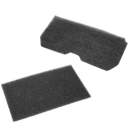 vhbw 2x Filter (1x Filtermatte, 1x Schwammfilter) kompatibel mit Blomberg TKF 1350/2, TKF 7350 S, TKF 7449 A Wäschetrockner - Ersatzfilter-Set
