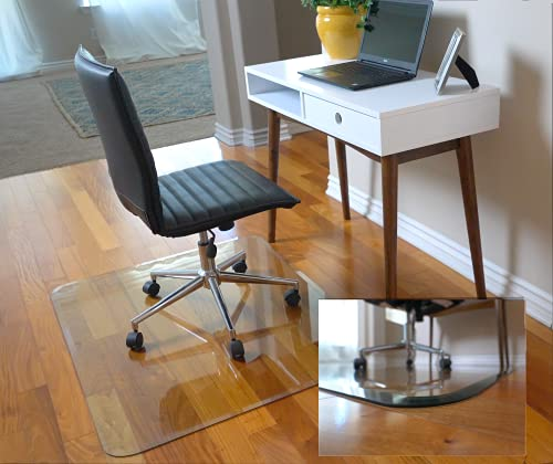 """36"""" x 46"""" Glass Chair Mat with Exclusive..."""
