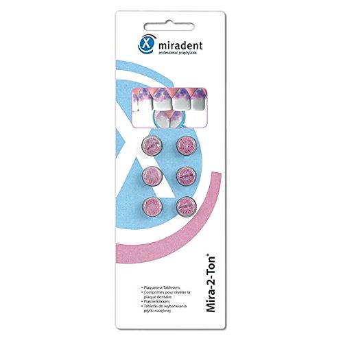 MIRADENT Mira 2 Ton Plaquetest Tabletten, 6 St