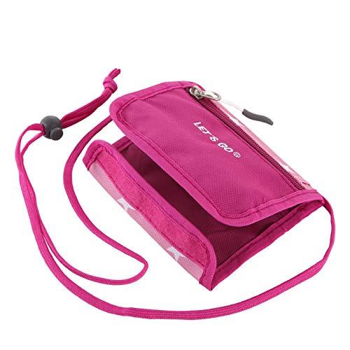 Let's Go Kinder Brustbeutel My Friend, Geldbörse für Jungen und Mädchen, Geldbeutel zum umhängen (pink)
