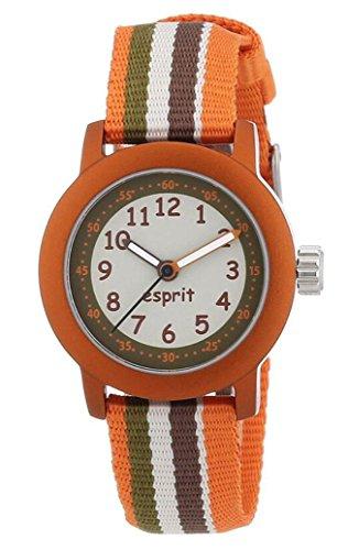 Esprit Jungen Analog Quarz Smart Watch Armbanduhr mit Nylon Armband ES106414015