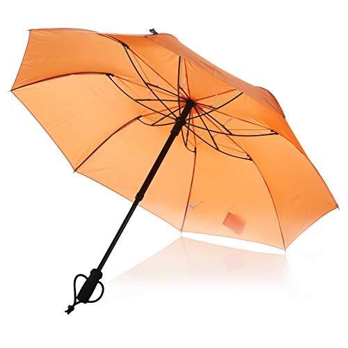 EuroSchirm Regenschirm teleScope handsfree orange