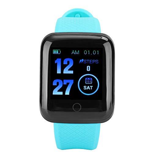 Reloj inteligente con frecuencia cardíaca, monitor de presión arterial,...