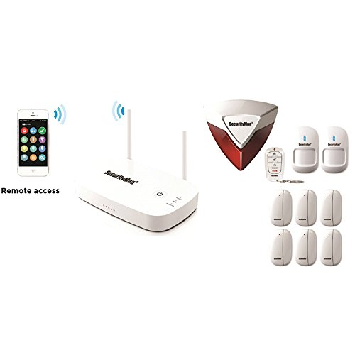 SECURITYMAN Alarms Surveillance System, White (IWATCHALARMD2)