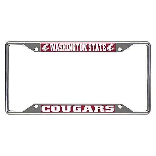 FANMATS 16837 Washington State University License Plate Frame