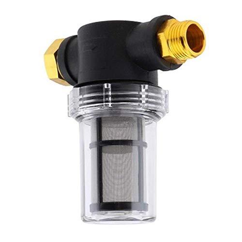 XCQ Conector de la Bomba de la Bomba del Filtro de la Manguera de jardín de 3/4 Pulgadas para la Lavadora de Alta presión Duradera 0609 (Color : 100)