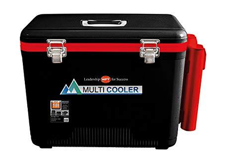 WFT Multicooler 18L schwarz mit 2 Rutenhaltern rot