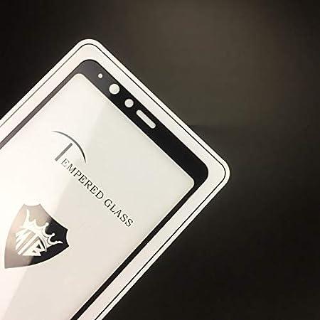 DESHENG Clear Screen Protector 25 PCS MIETUBL Full Screen Full Glue Anti-Fingerprint Tempered Glass Film for Galaxy A8 Star // A9 Star Black Color : Black Glass Film