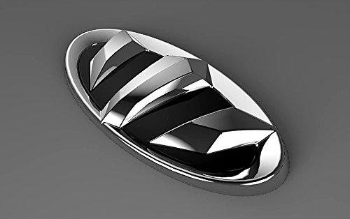 Zubehör für ix35 2010-2015 Emblem Krone für Heckklappe oder Kühlergrill Heck Grill Logo Tuning Heckemblem Grillemblem