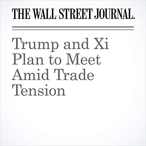 Trump and Xi Plan to Meet Amid Trade Tension copertina