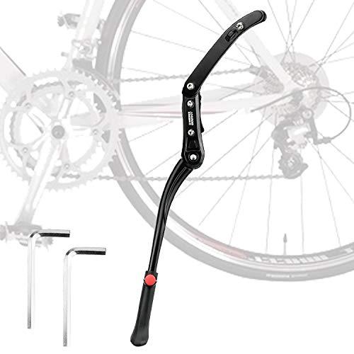 KARAA Pata de Cabra para Bicicleta Aluminio Soporte Ajustable para 24'' - 29'' Montaña Bicicleta Carretera Bicicleta 51-55cm con Llave Hexagonal