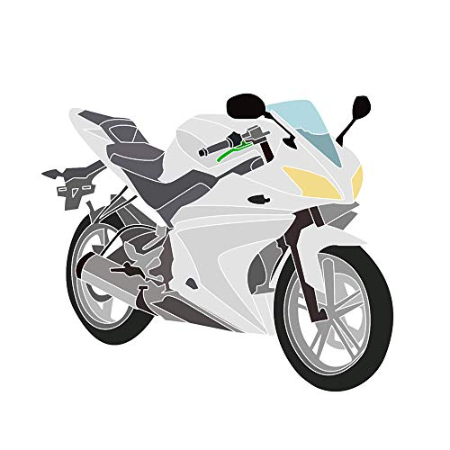 Yamaha YZF-R125 08-13 kit completo carenatura (20 Pezzi) non verniciata