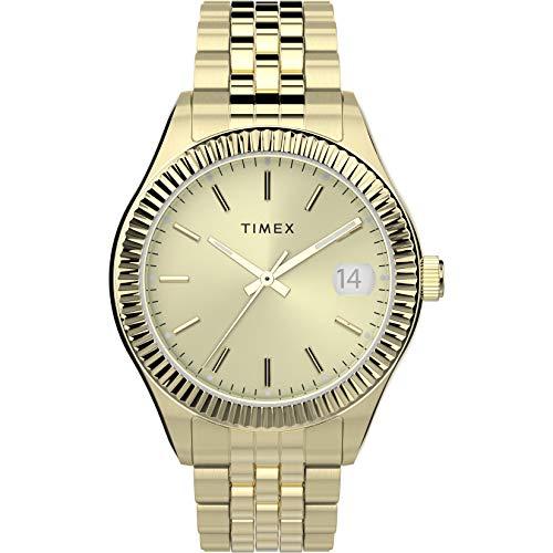 Timex 34 mm Waterbury 3-Hand Date