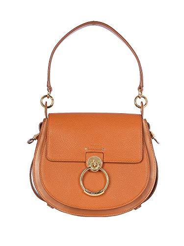 Luxury Fashion | Chloé Dames CHC19WS152944247 Bruin Leer Handtassen | Lente-zomer 20
