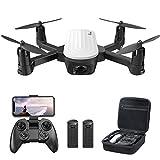 Potensic Drone con Telecamera 2K, RC Quadcopter Drone Pieghevole WiFi FPV Droni, Sensore di...