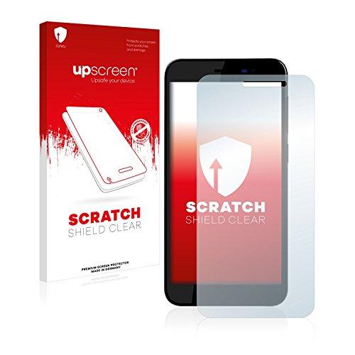 upscreen Schutzfolie kompatibel mit Archos 50 Power – Kristallklar, Kratzschutz, Anti-Fingerprint