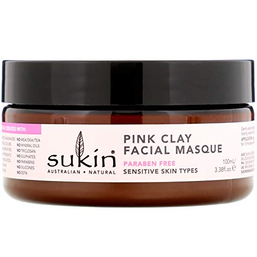 Sukin Sensitive Pink Clay Facial Masque