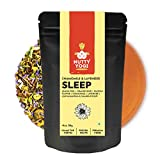 Nutty Yogi Sleep Tea | Green Tea Blend with Chamomile, Lavender, Ashwagandha, Lemon