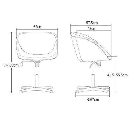 YIZ Modern Meubilair Draaibare bureaustoel kan worden verhoogd en verlaagd Rotatie Kleur Optionele Mode Groen