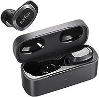 EarFun Free Pro Bluetooth 5.2 ワイヤレスイヤホン 28dB アクティブノイズキャンセリング ANC機能 32時間再生 IPX5防水 USB-C充電 ワイヤレス充電 自動ペアリング...