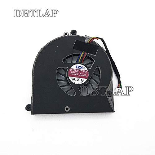DBTLAP Ordenador Portátil GPU Ventilador Compatibles para DELL Alienware M17X R2 M17XR2...