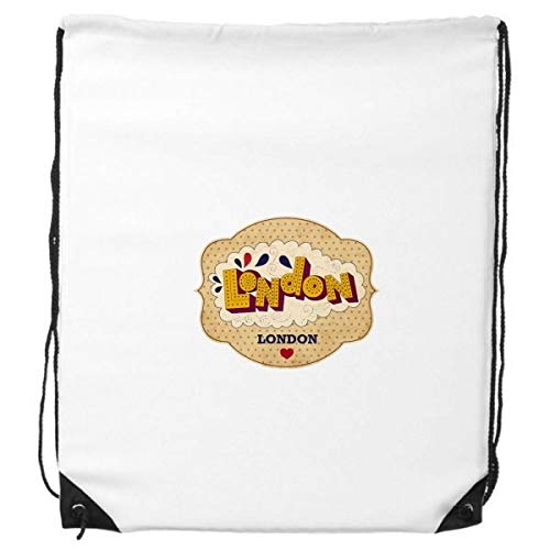 Paraplu UK Londen Stempel Britse Trekkoord Rugzak Winkelen Sport Tassen Gift