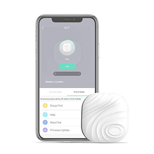Evershop Schlüsselfinder Anti-Lost Tracker, Bluetooth Key Finder Tracker GPS Locator Schlüssel Finder mit APP Wallet Telefonschlüssel Alarm Reminder für Telefon Haustiere Schlüsselbund Brieftasche