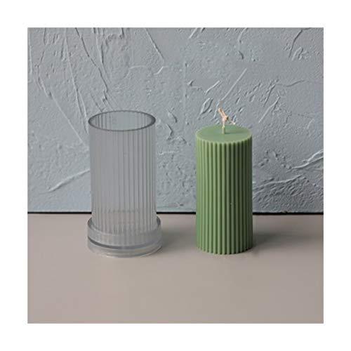 JINGGEGE DIY Gips Kerzenform für Dekoration Silikon Kerzenformen Bienenwachs Kerzenform (Color : B)