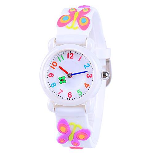 VIVIKEN Kids Watch 3D Cartoon Waterproof Children Toddler Wrist Watch Time...