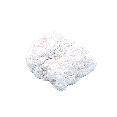 Namvo Piedras preciosas decorativas de cristal de ágata blanca natural Cornucopia Feng Shui