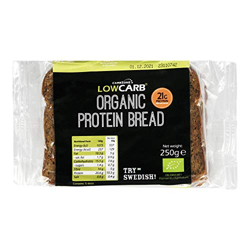 Organic Protein Rich Bread 250g (Long Shelf-Life) - Pack of 3
