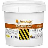 TECPINT VIAL de Tecno Prodist - (750 ml) AMARILLO Pintura al agua, para señalización vial, especial para vados, secado rápido, no tóxica