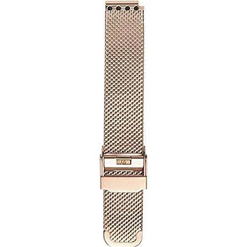 BERING Unisex Erwachsene Edelstahl Uhrenarmband PT-15531-BMVX