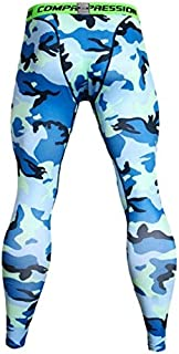 Zooka Men Fashion 3D Printing Pants Fitness Joggers Compression Tights Long Pants Leggings Mens Wear Jogginsg Slim Fit Trousers Camouflage