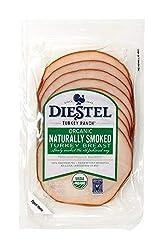 Diestel Turkey, Organic Sliced Smoked Breast, 6 oz
