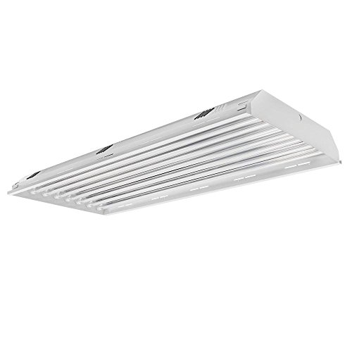 8 Lamp / Bulb LED Linear High Bay Light Fixture - 176W (600W Equivalent), 25600 Lumen, 5000K (Daylight), Indoor Shop Warehouse Industrial Lighting, DLC and UL