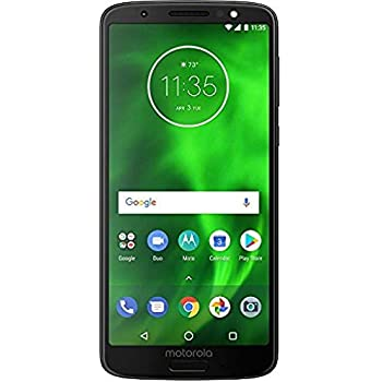 Motorola Moto G6 - Verizon Locked Phone - 5.7in Screen - 32GB - Black - U.S. Warranty - (Renewed)