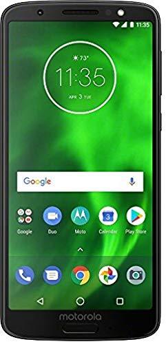 Motorola Moto G6 - Verizon Locked Phone - 5.7in Screen - 32GB - Black - U.S. Warranty - (Renewed)