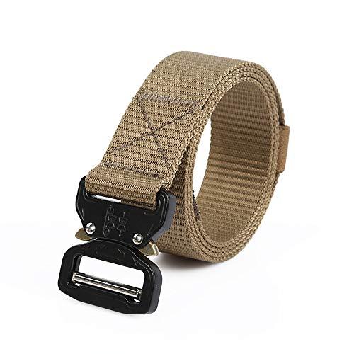 Tactical Belt Military Style Nylon Web Belt Cobra...