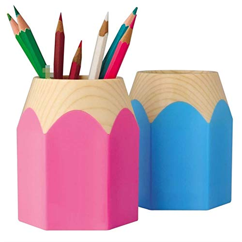 Papelería grande lápiz afilado, organizador de escritorio, almacenamiento de suministros escolares de oficina, dispensadores (color: A)